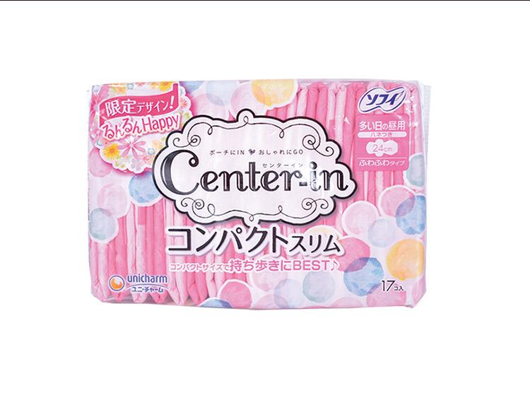 尤妮佳Center-in超薄绵柔系列-卫生巾24cm17片_06.jpg