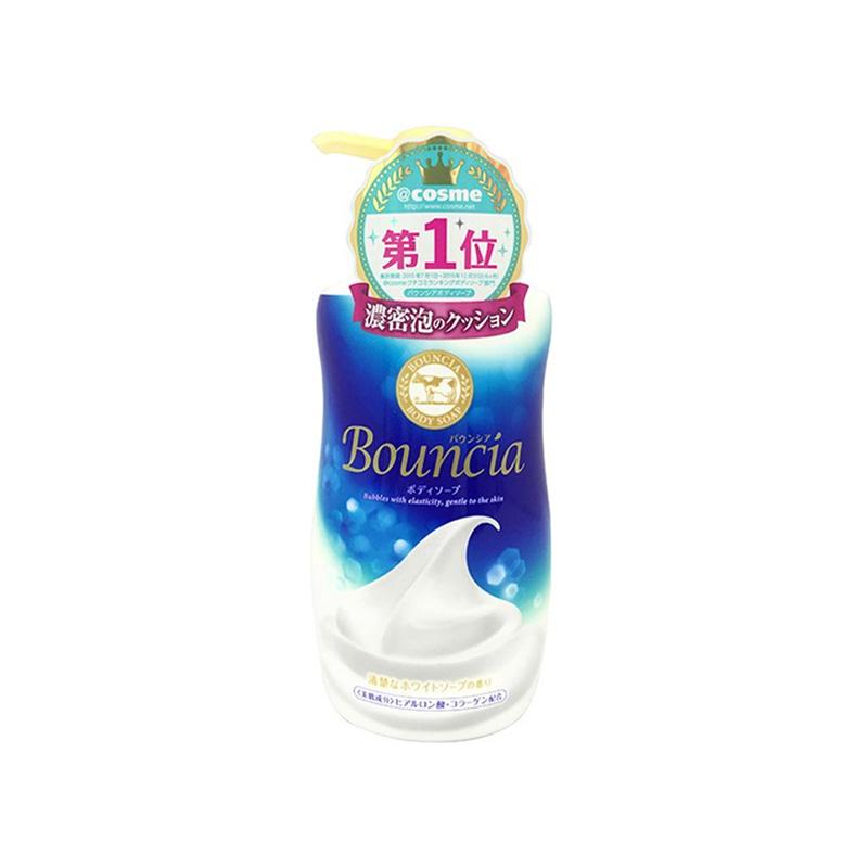 Cow 牛牌 牛乳石碱 bouncia 浓密泡沫高保湿沐浴露 550毫升